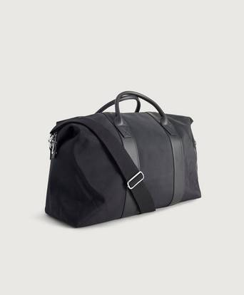 Steele & Borough Weekendbag The Weekender Svart