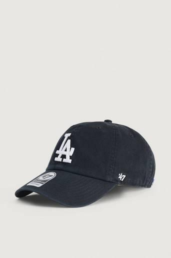 Bilde av 47 Brand Caps Mlb Los Angeles Dodgers '47 Clean Up Svart