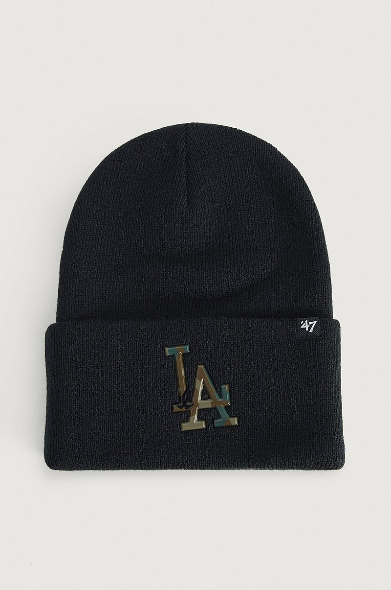 LUE MLB Los Angeles Dodgers Caster Camo '47 CUFF KNIT