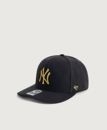 Bilde av 47 Brand Caps Mlb New York Yankees Cold Zone Metallic '47 Mvp Dp Svart