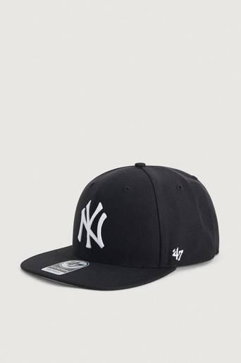 Bilde av 47 Brand Caps Mlb New York Yankees No Shot '47 Captain Svart