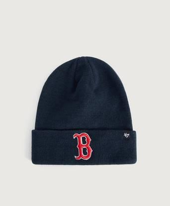 Bilde av 47 Brand Lue Mlb Boston Red Sox Raised '47 Cuff Knit Blå