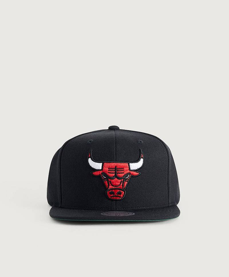 Kasket WOOL SOLID SNAPBACK - CHICAGO BULLS