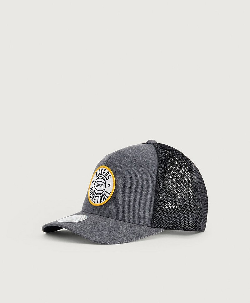 HEATHER PATCH SNAPBACK - LOS ANGELES LAKERS