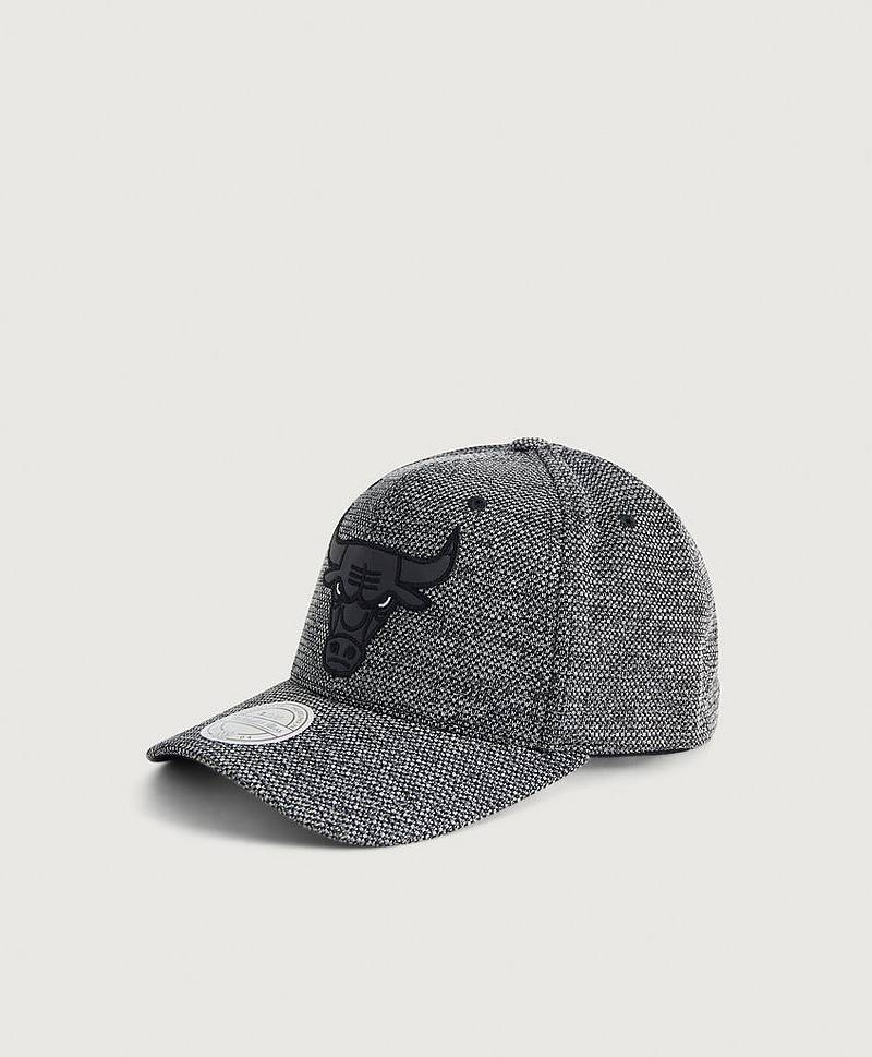 Caps Woven Static Snapback - Chicago Bulls