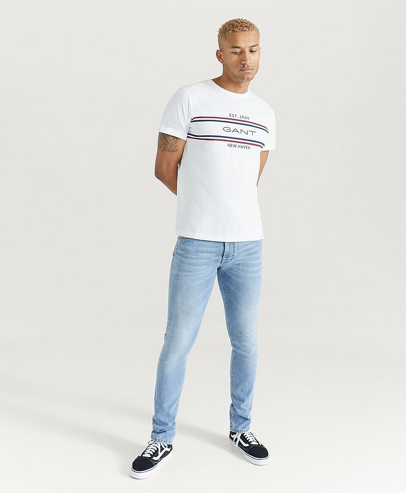 T-shirt D1. GANT Stripe T-Shirt