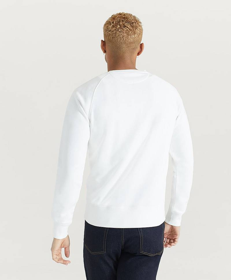 Sweatshirt D1. GANT Stripe C-Neck Sweat