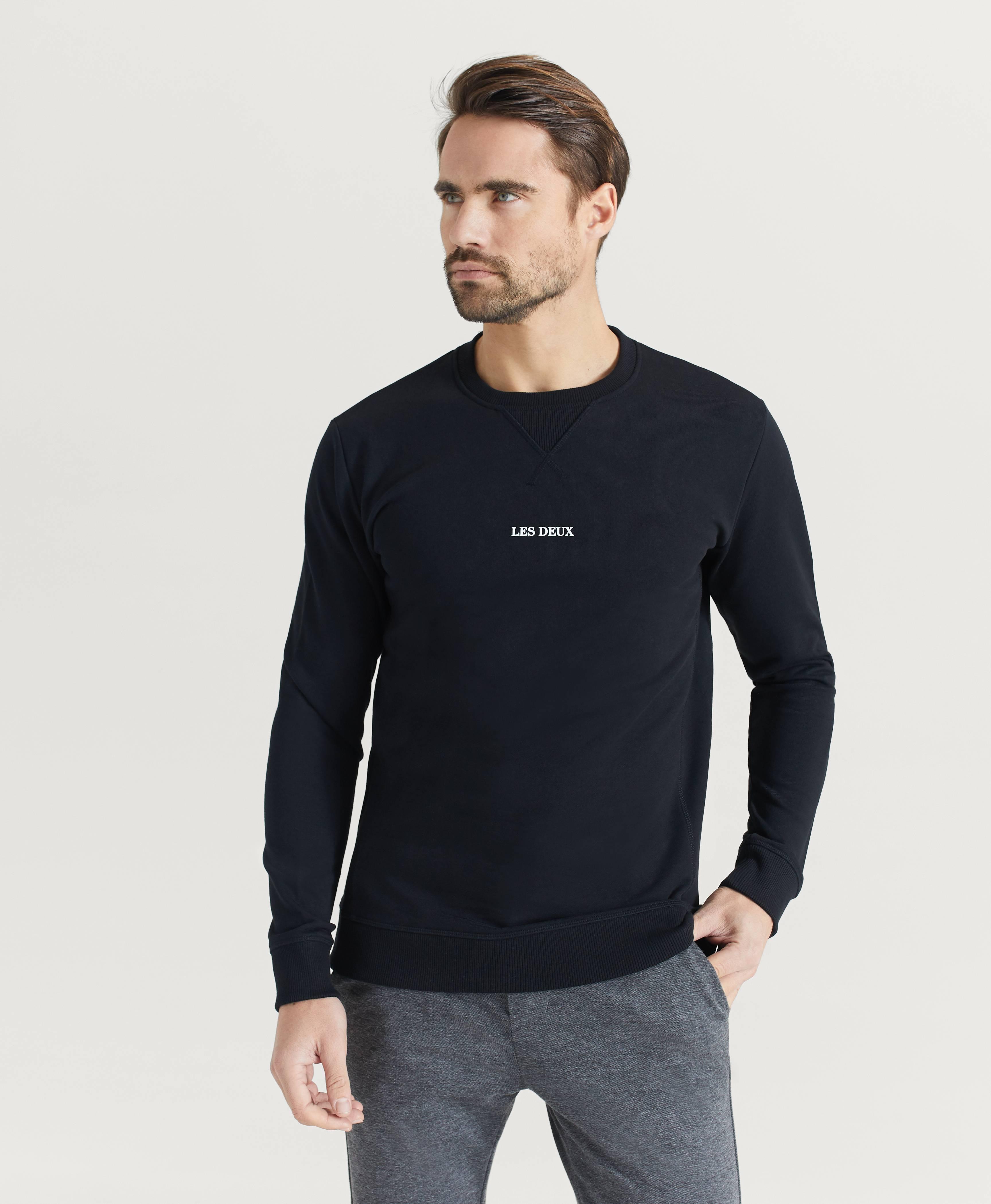 Les Deux Sweatshirt Lens Svart