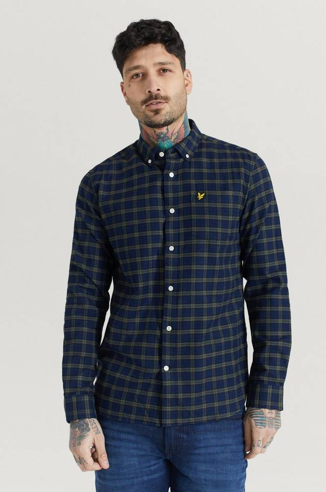 Kauluspaita Check Flannel Shirt