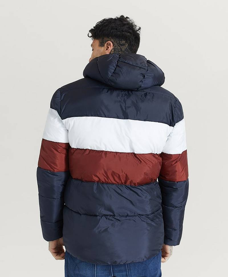 Jakke Colour Block Puffa Jacket