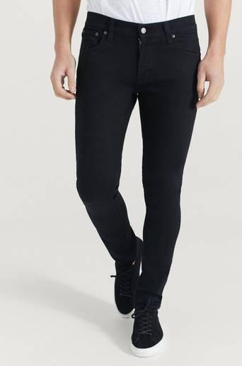 Nudie Jeans Jeans Tight Terry Ever Black Svart