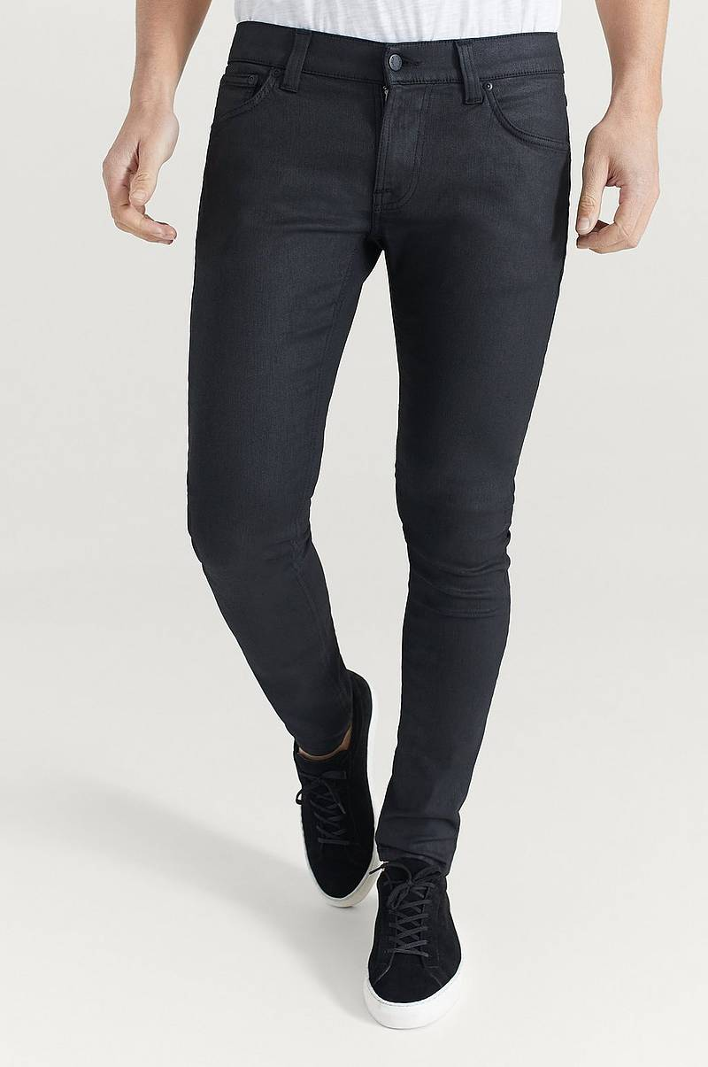 Jeans Tight Terry Painted Black