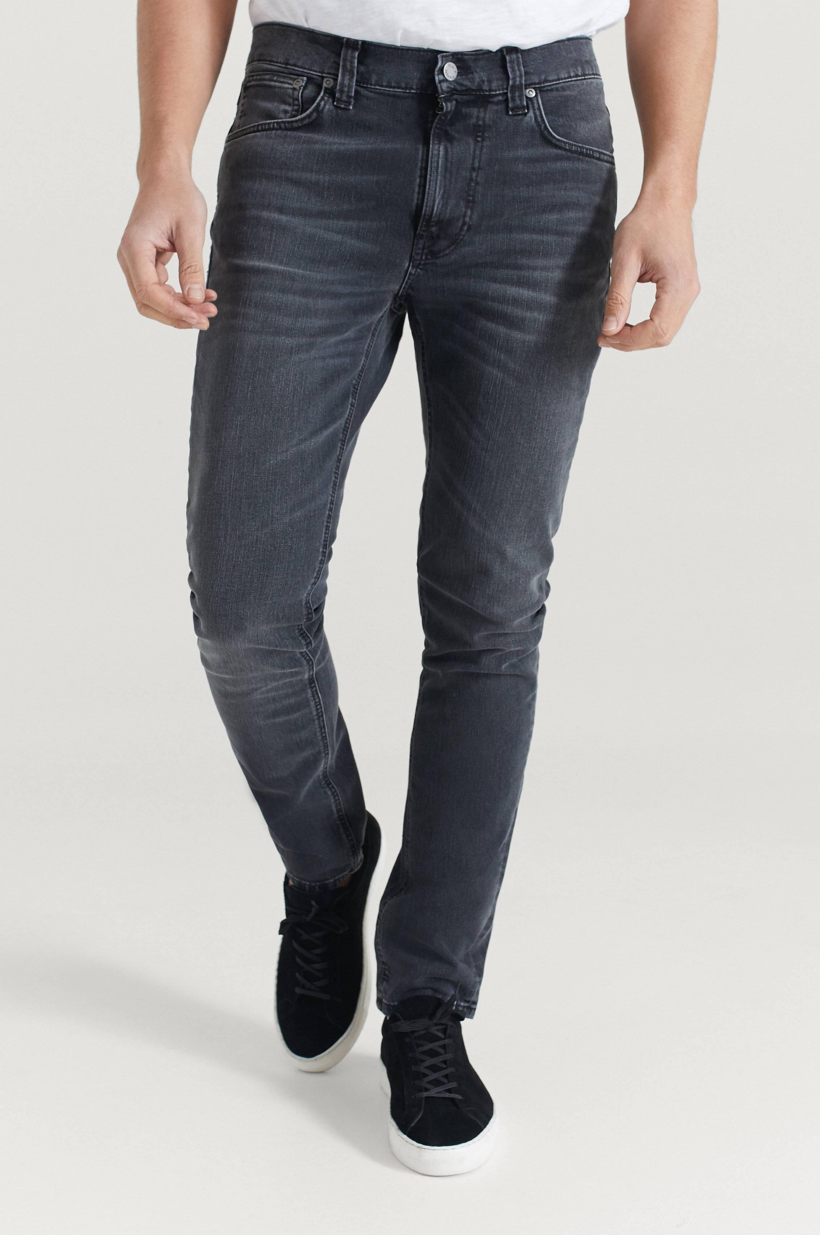 Nudie Jeans Jeans Lean Dean Mono Grey Grå