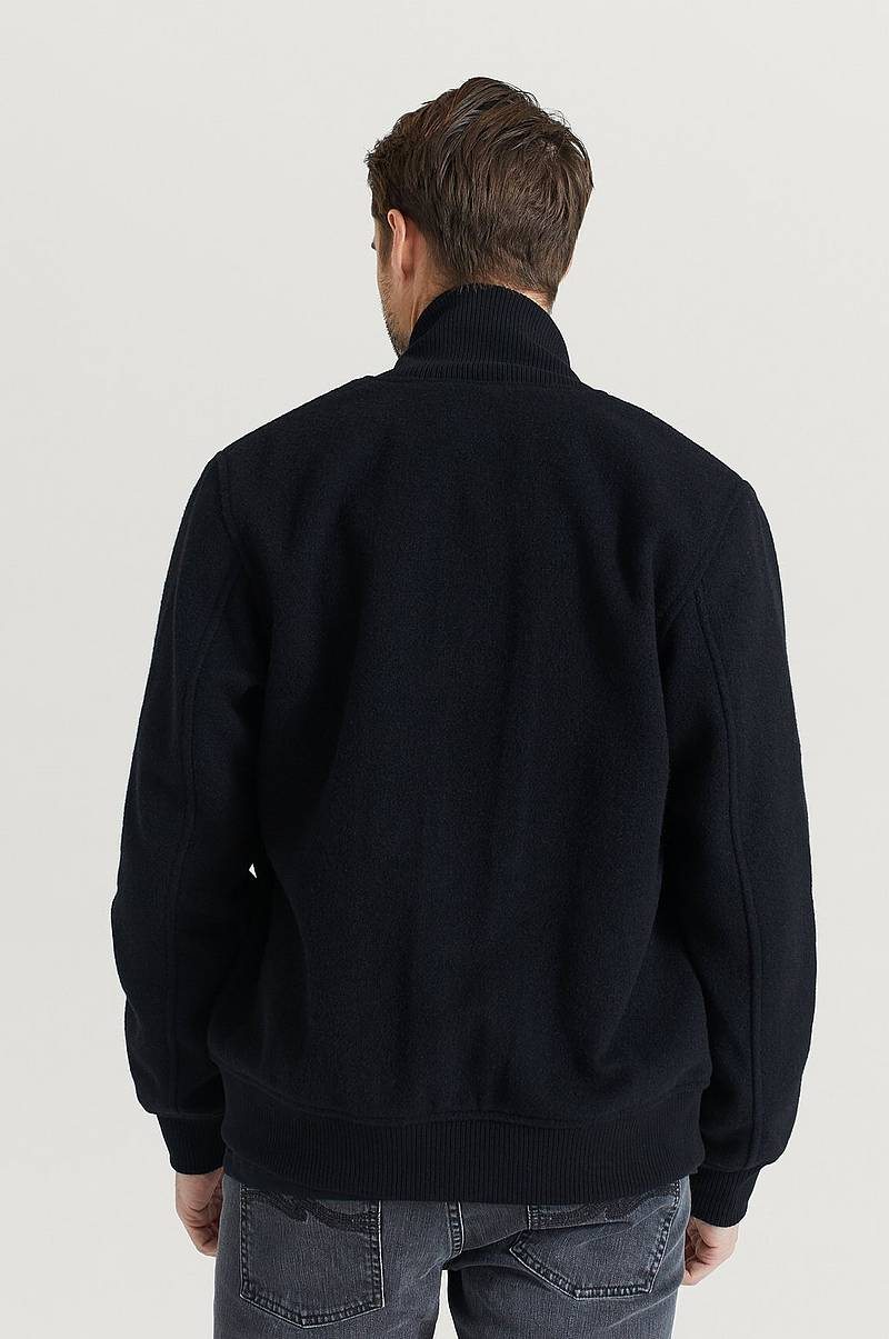 Jacka Bengan Wool Fleece Black