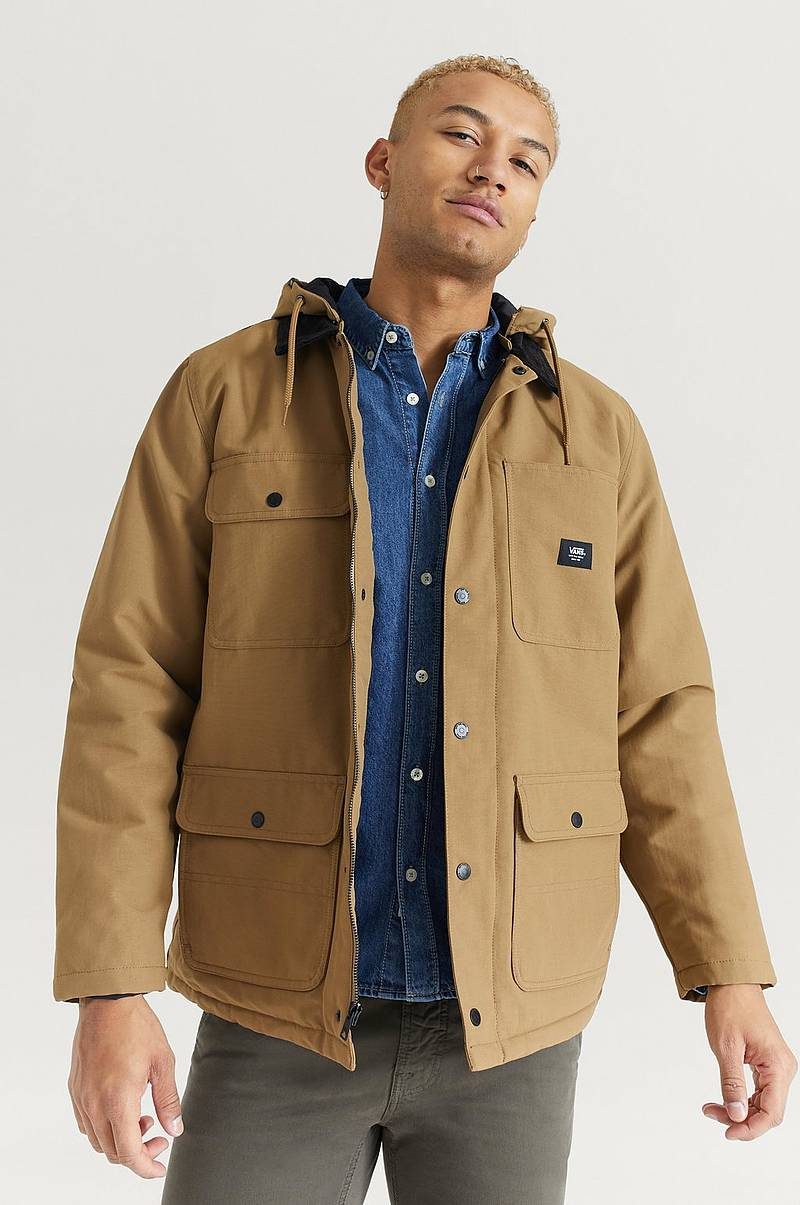 Jacka MN Drill Chore Coat Dirt