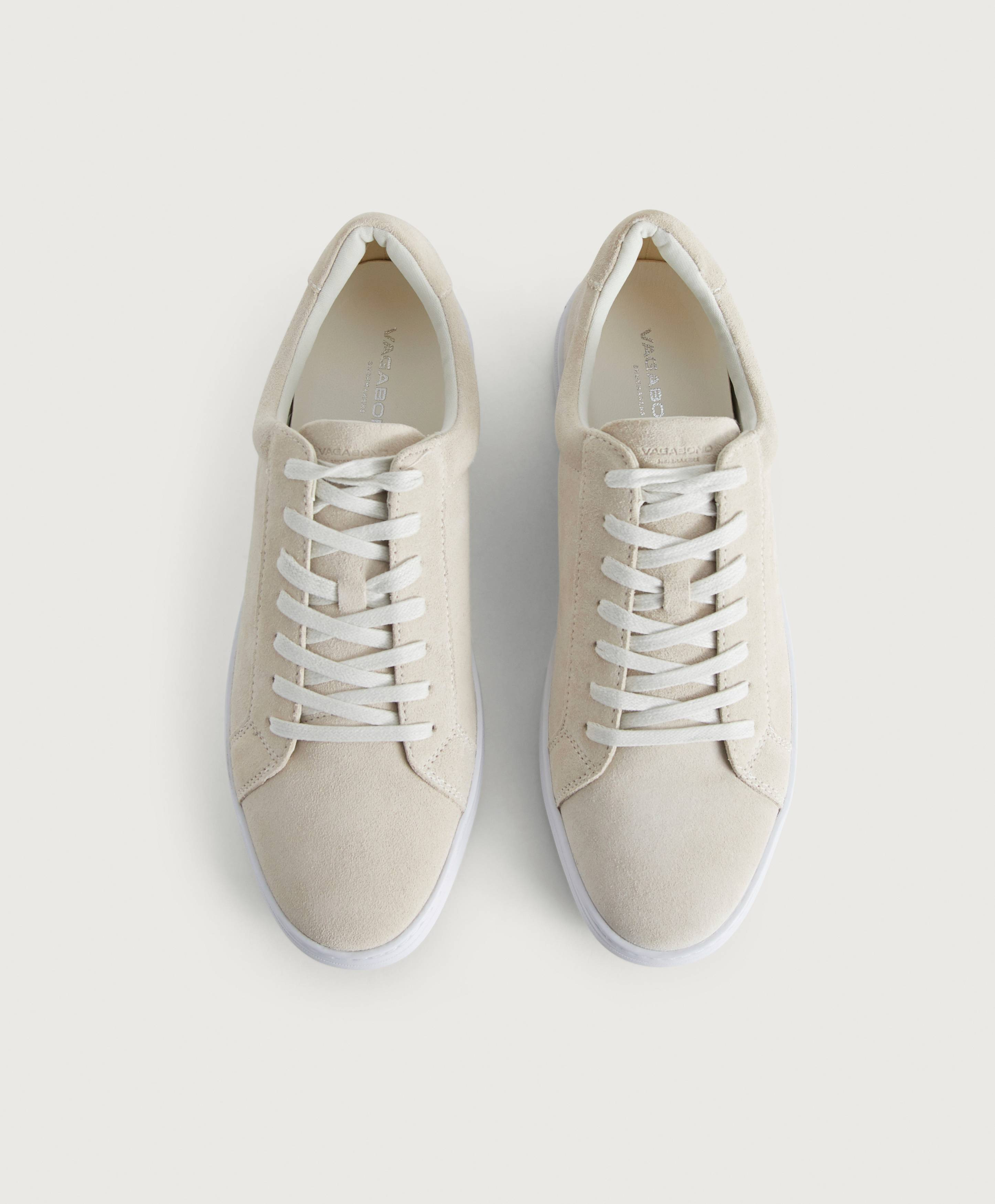Vagabond Sneakers Paul i semsket skinn
