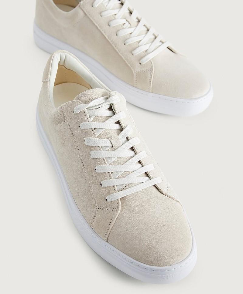 Vagabond Sneakers Paul i semsket skinn Hvit Sko Stayhard.no