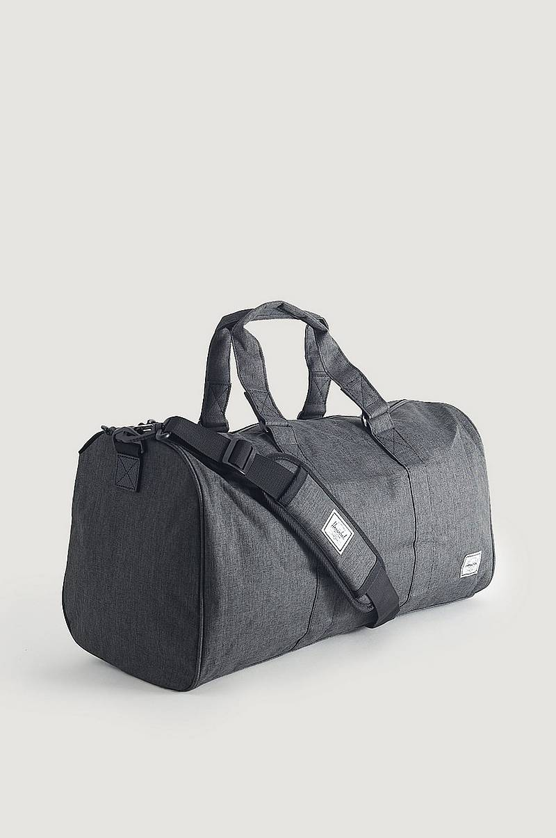 Weekendbag Novel Mid-Volume-Black Crosshatch