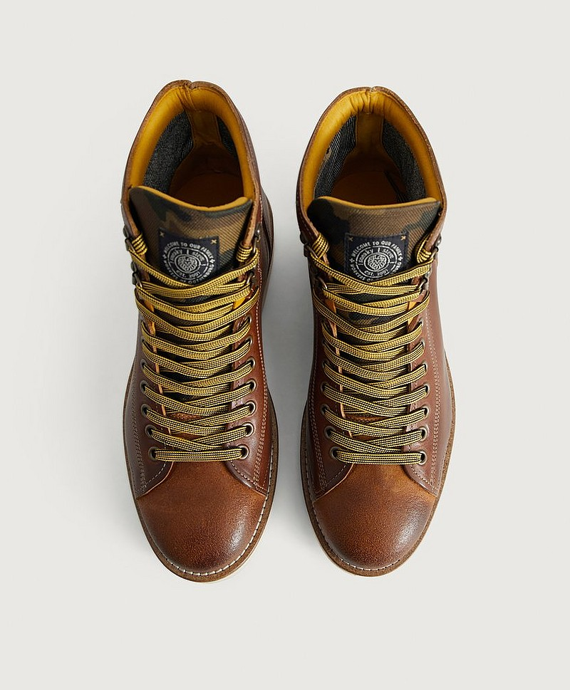 Støvler Deadbeat Leather Shoe