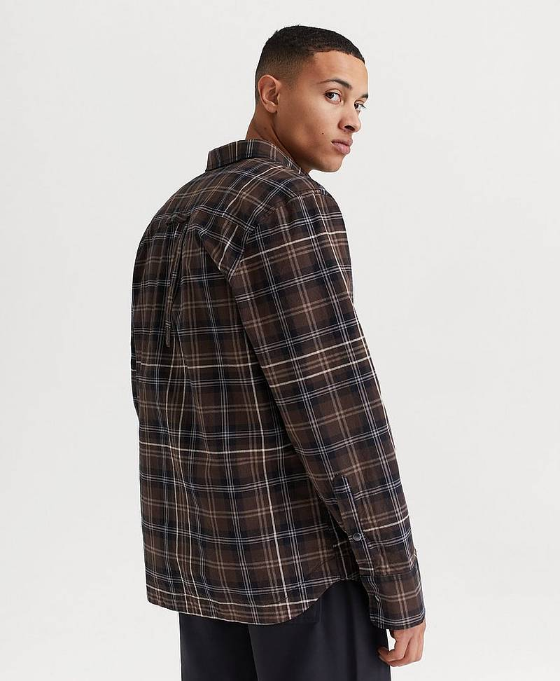 SKJORTA Work Overshirt Check