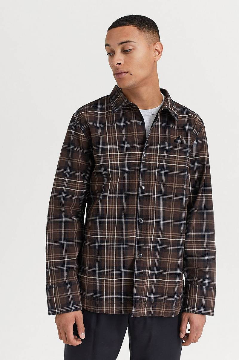 SKJORTE Work Overshirt Check