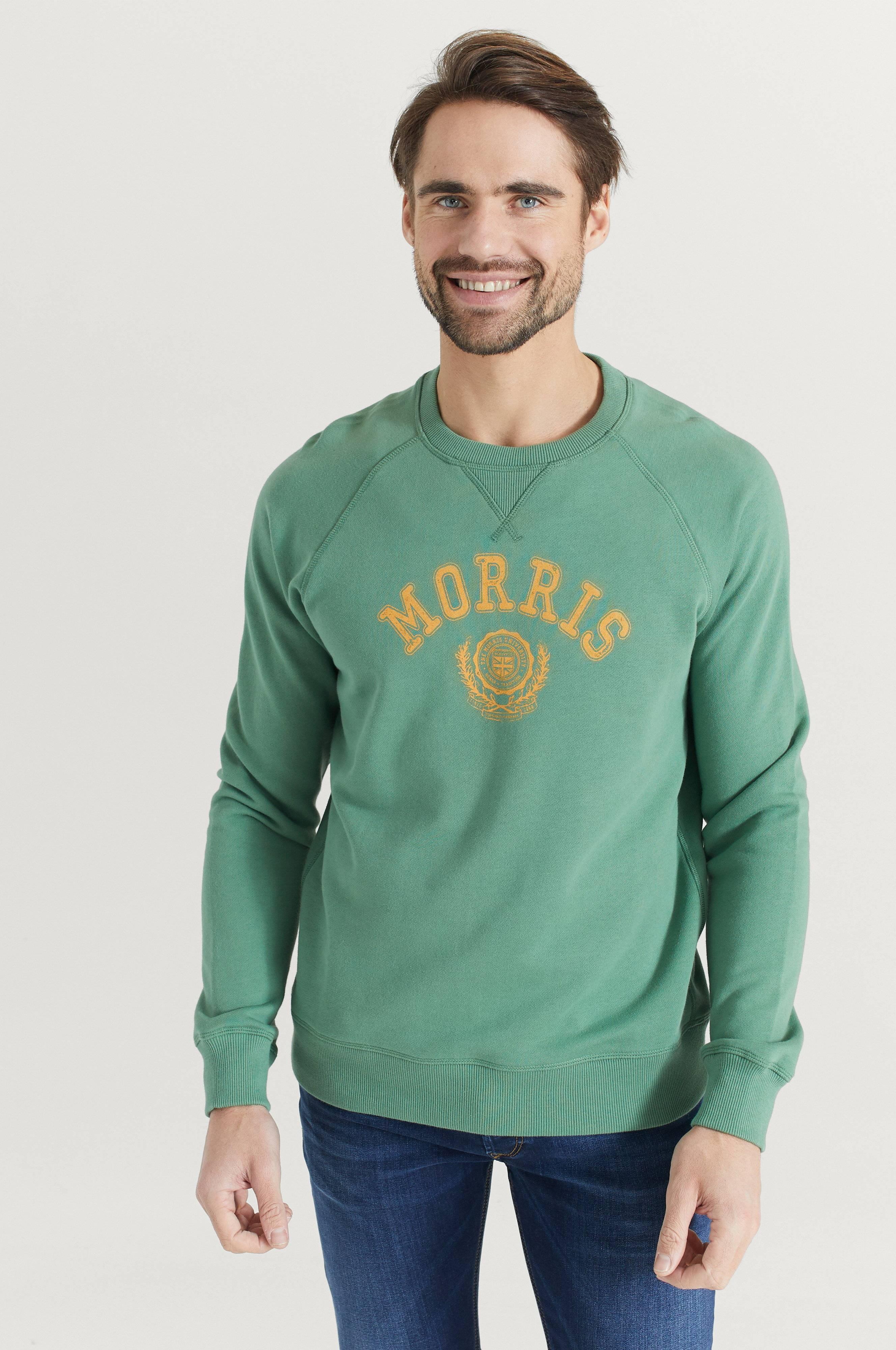 Morris Sweatshirt Corby Grön