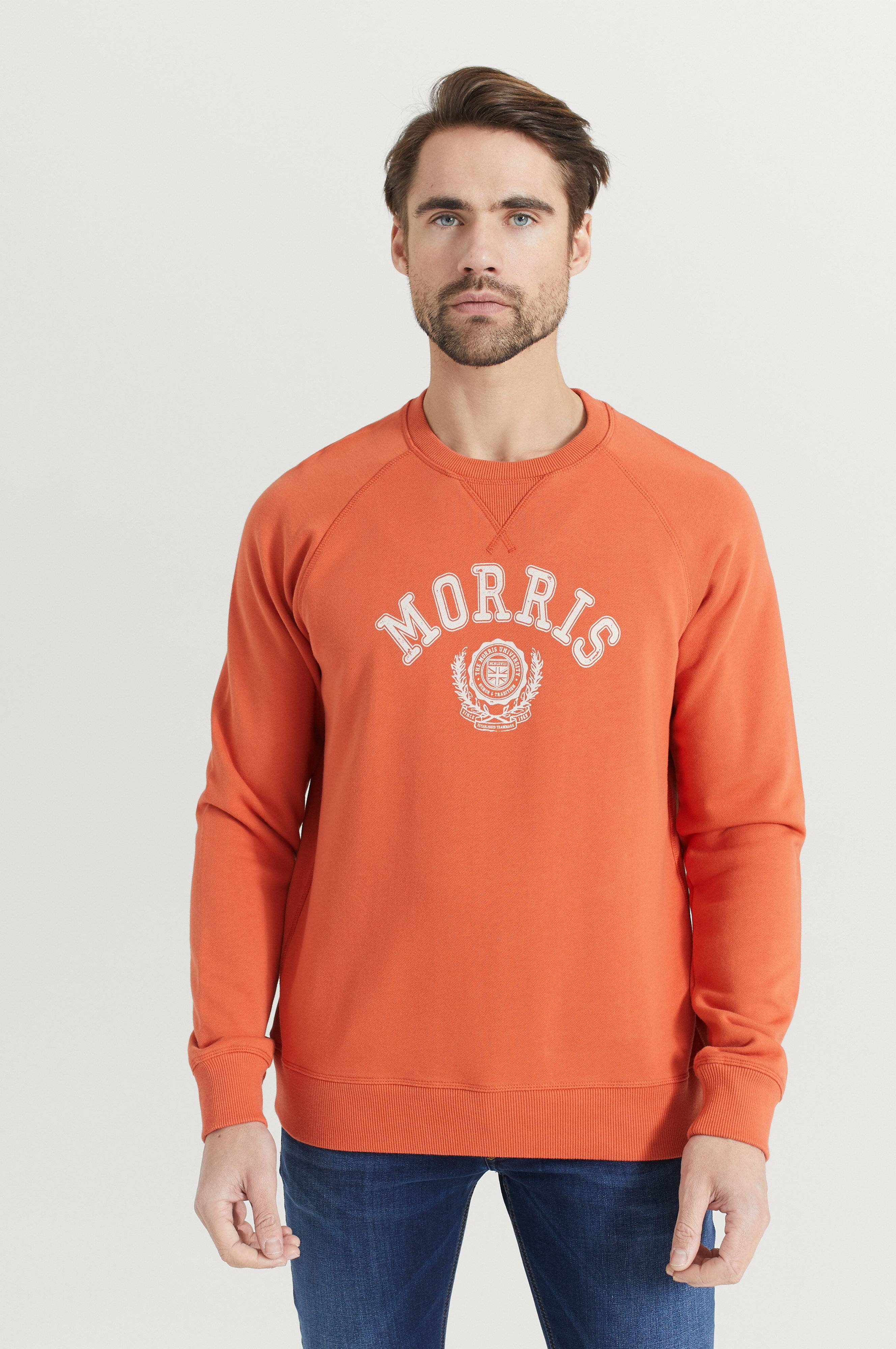 Morris Sweatshirt Corby Röd