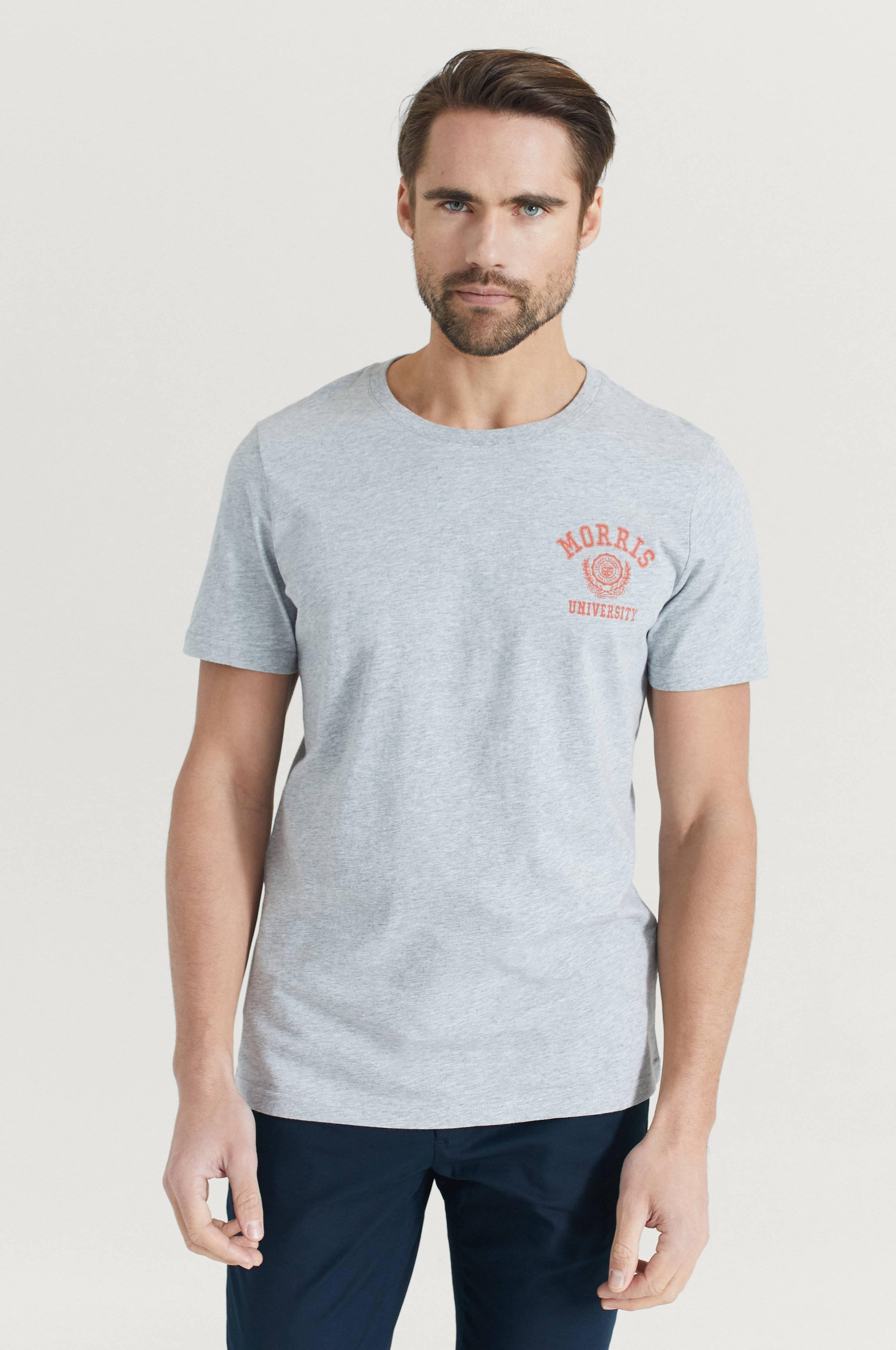 Morris Corby Tee T-shirts & linnen Grey
