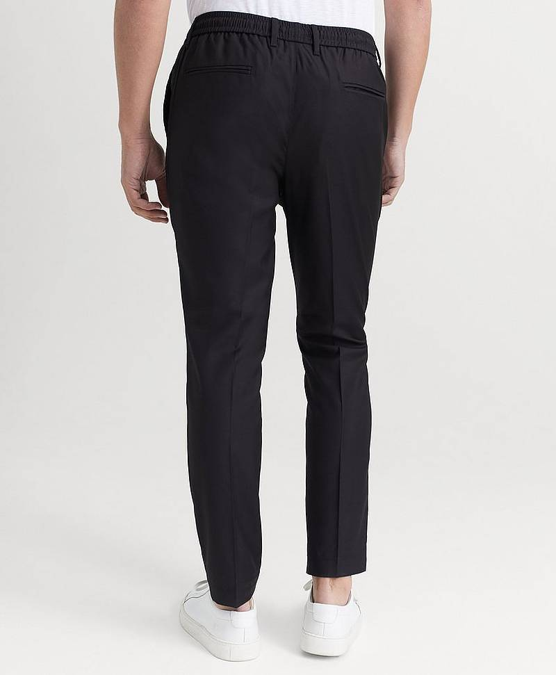 HOUSUT Philip Black Pants