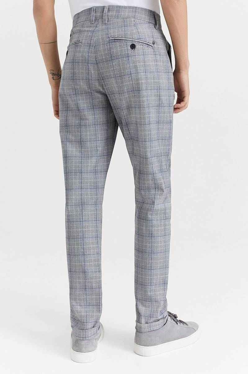 Byxor Rome Check Pants