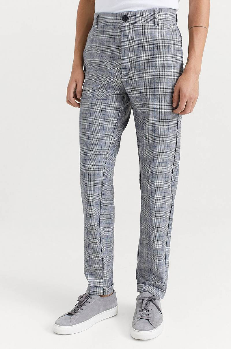 Housut Rome Check Pants