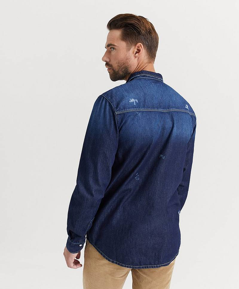 Jeansskjorta Sam Denim Shirt