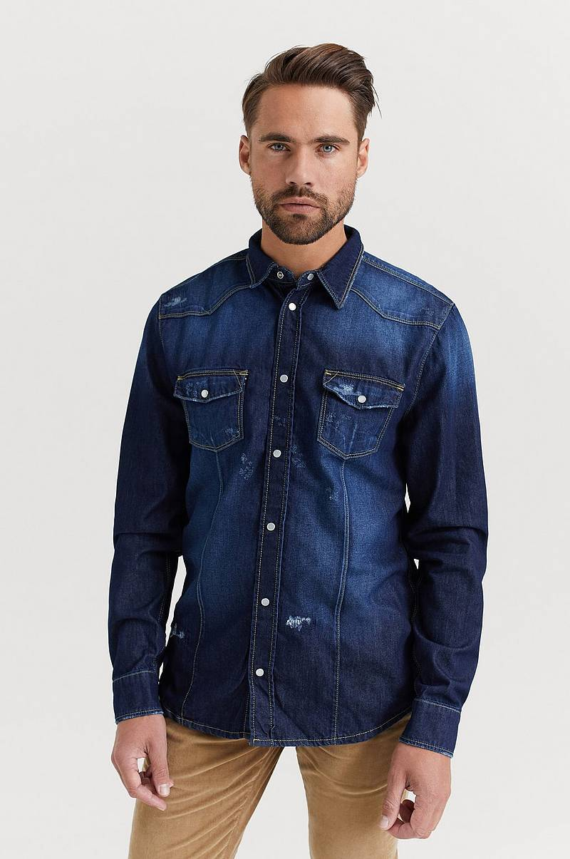 Jeansskjorte Sam Denim Shirt