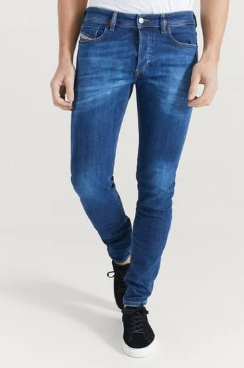 Diesel Klær Jeans Skinny fit jeans Male Blå
