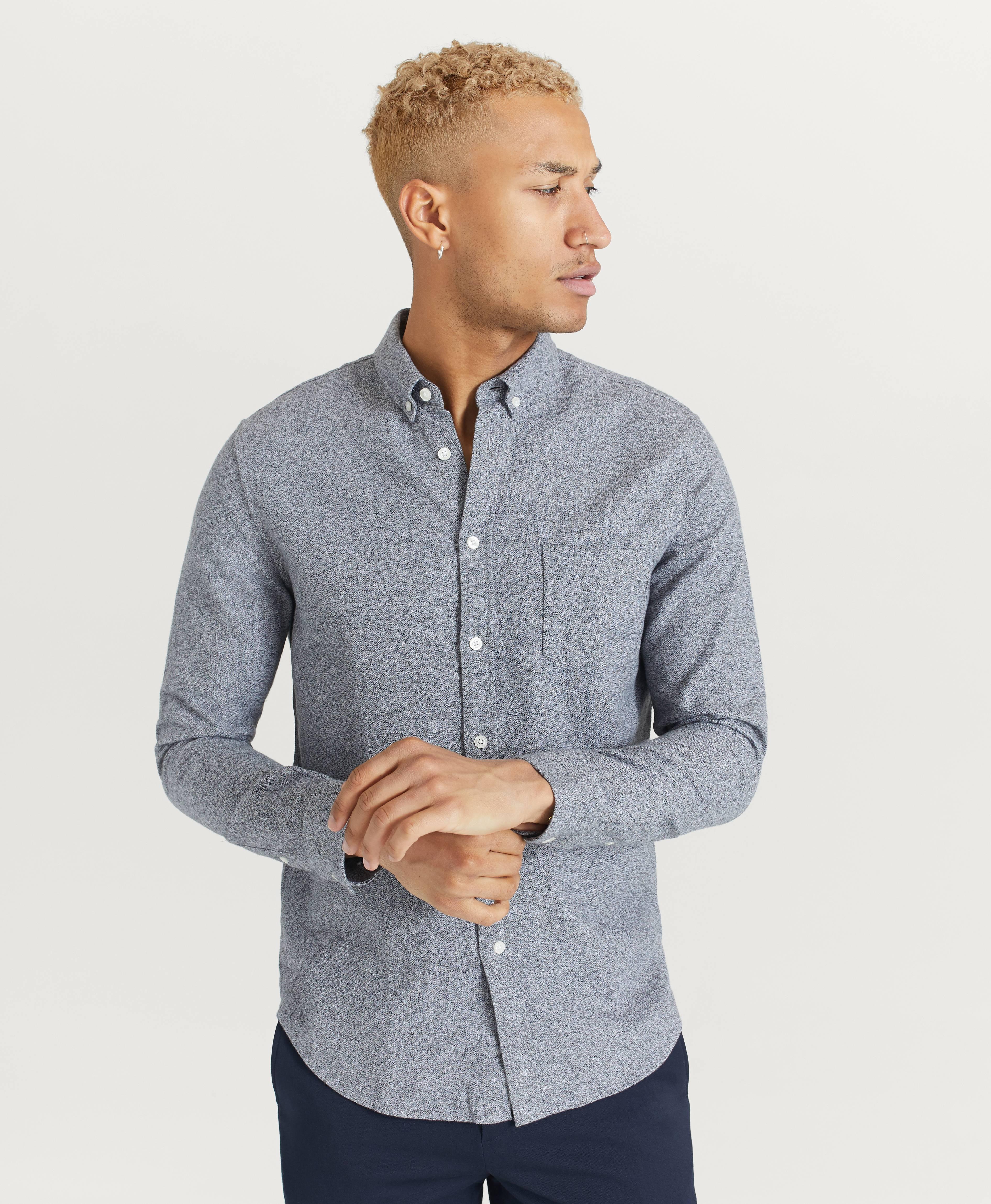 Samsøe Samsøe Liam BA shirt 11245 Skjortor Grey Melange