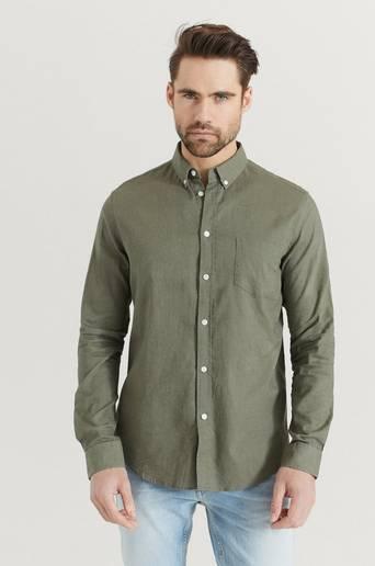 Samsøe Samsøe Skjorta Liam BA Shirt 6971 Grön