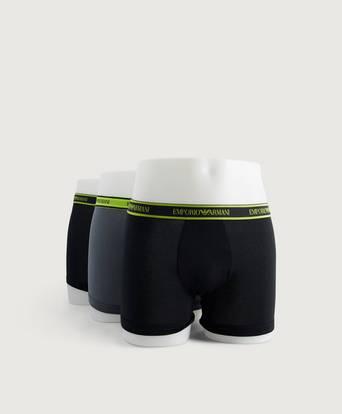 Bilde av Armani Underbukser 3-pk Core Logoband Boxer Svart