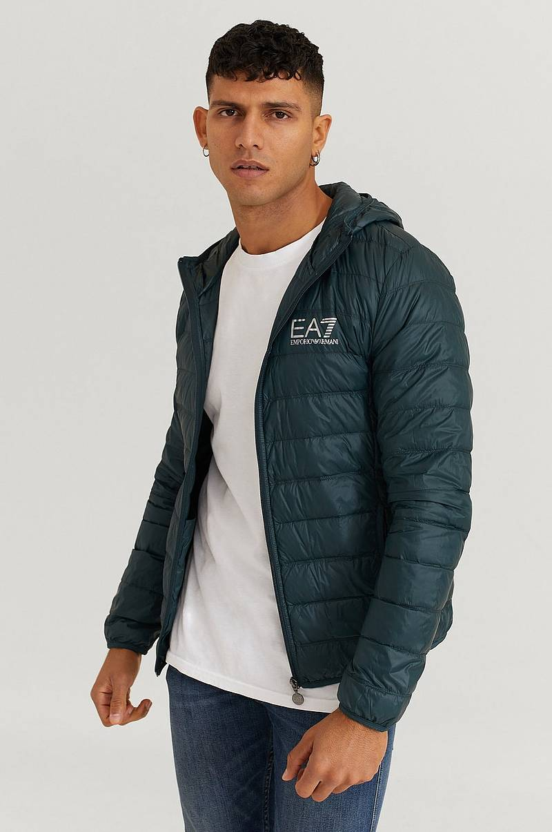 Takki Light Down Hooded Jacket