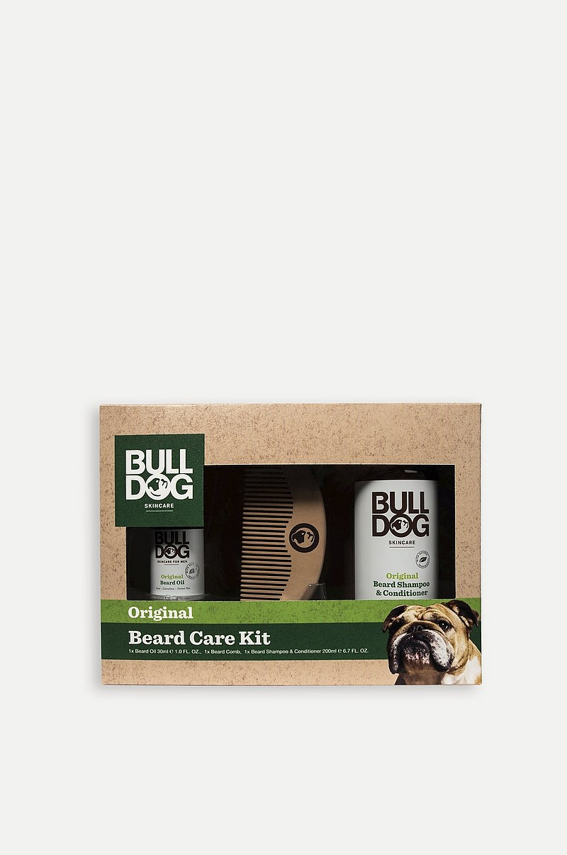 Skjeggpleie Bulldog Original Beard Care Kit