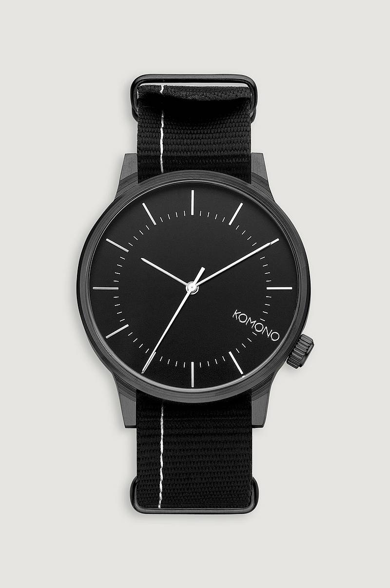 Klokke Winston Regal Nato Black