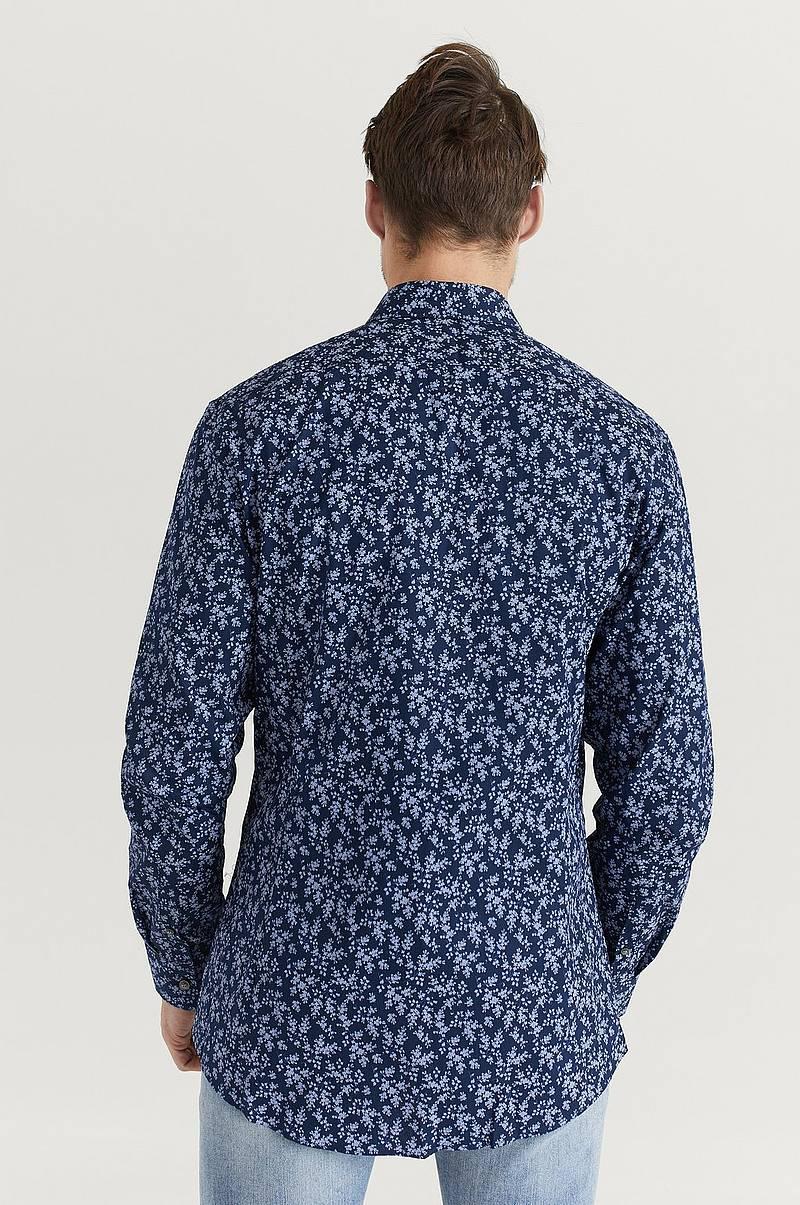 mönstrad skjorta herr