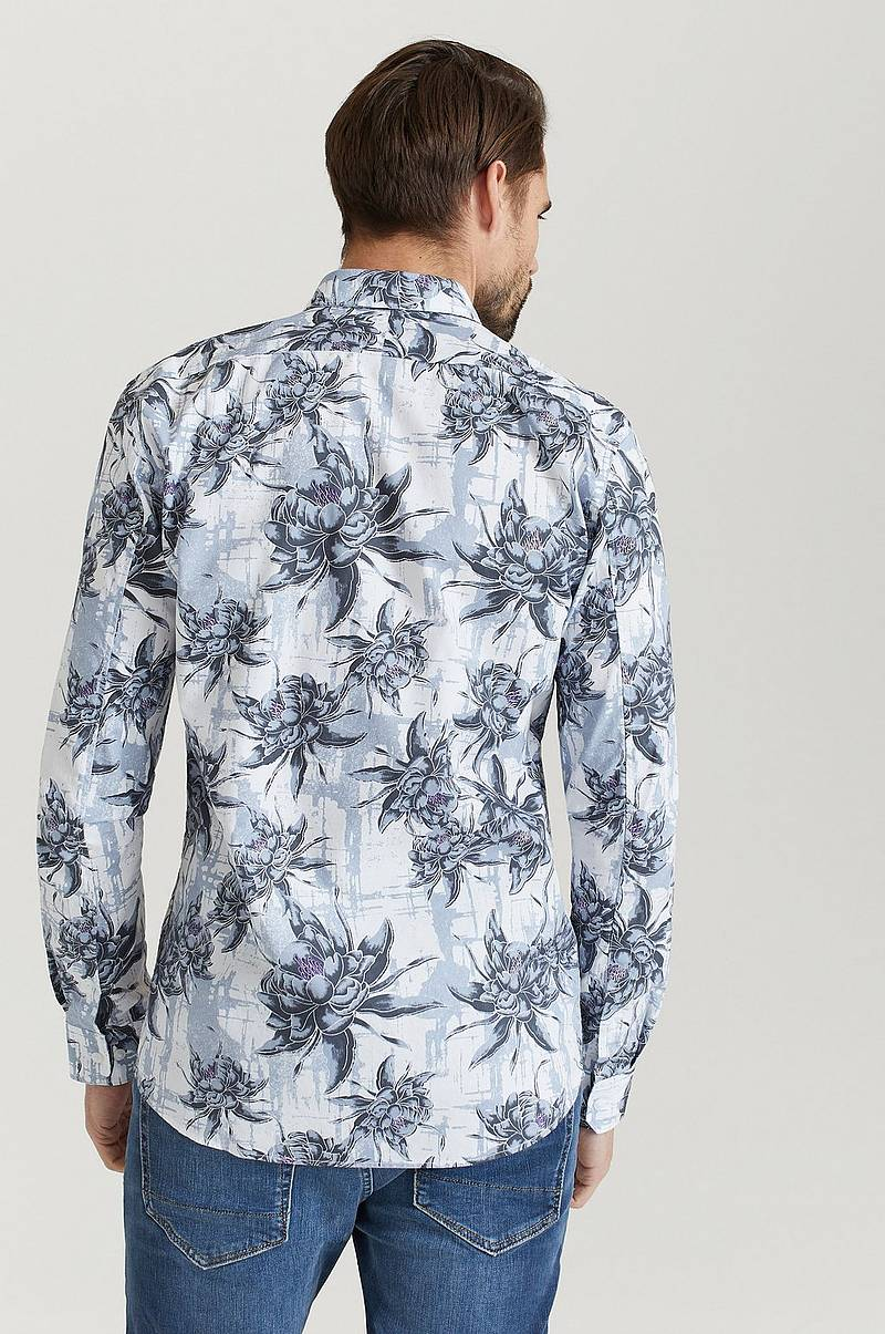 AOP Oxford L/S Shirt