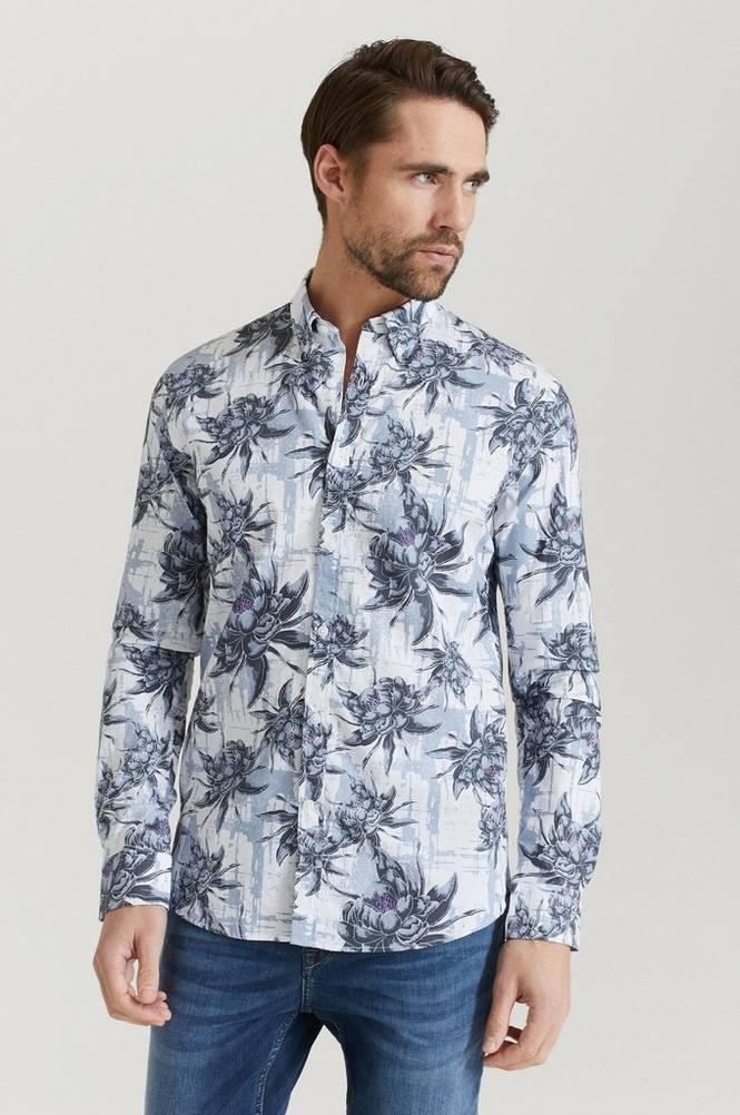 AOP Oxford L/S Shirt