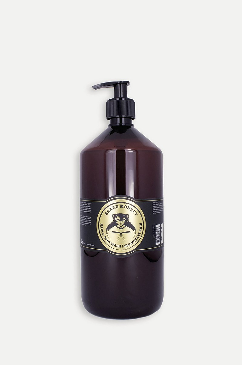 Hårpleie Hair & body Shampoo Lemongrass