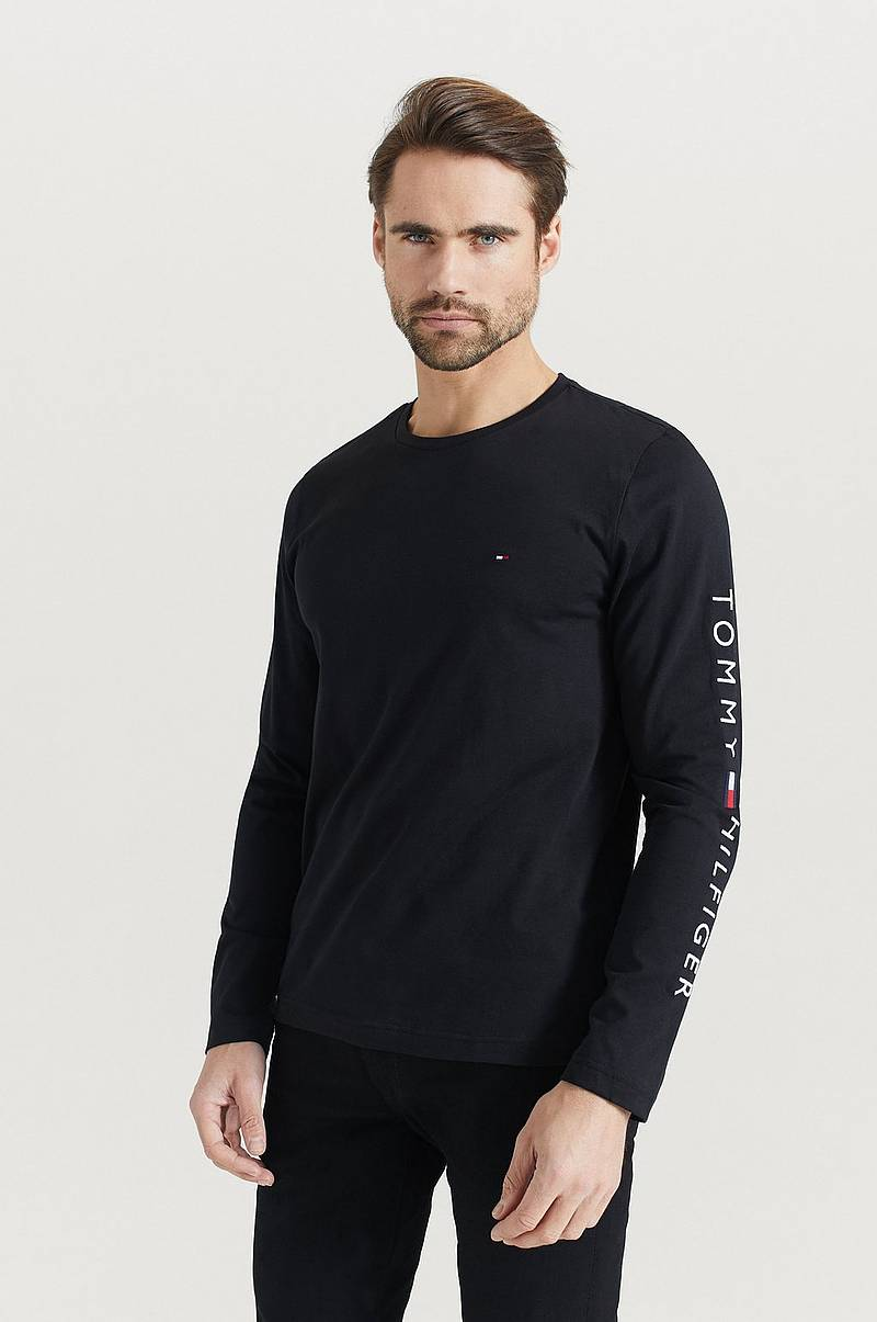 T-paita Tommy Logo Long Sleeve Tee