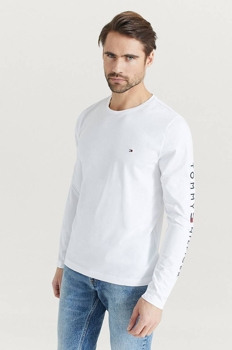 T-shirt Tommy Logo Long Sleeve Tee