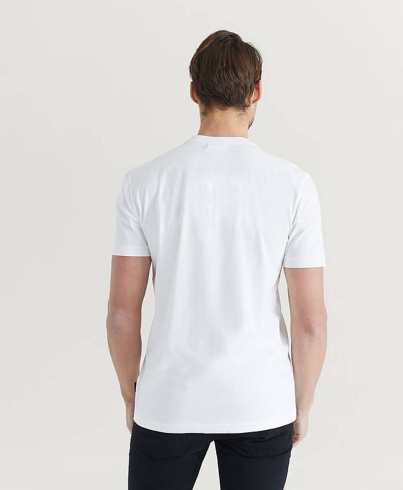 T-shirt Chest Box Logo Stretch T-shirt