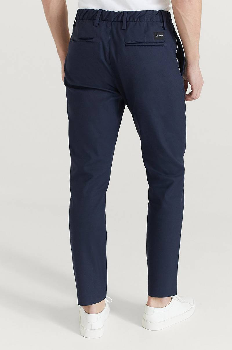 Byxor Tapered Elastic Twill Pant