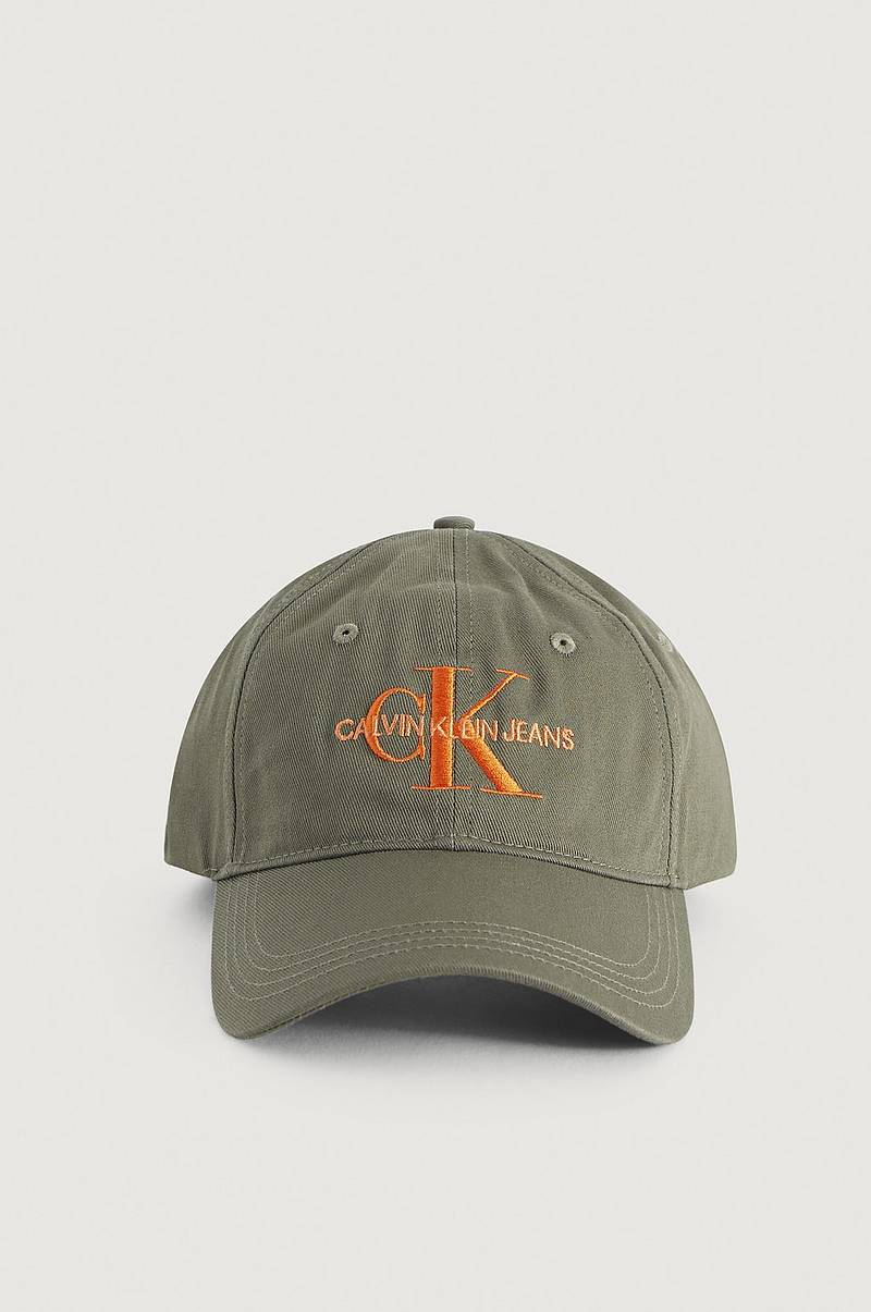 Kasket J Monogram Cap With Embroidery