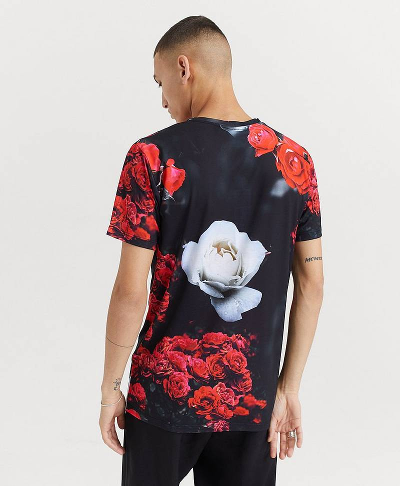 T-shirt Rose Red T-shirt